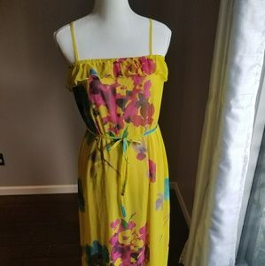Lovely multicolored maxi dress